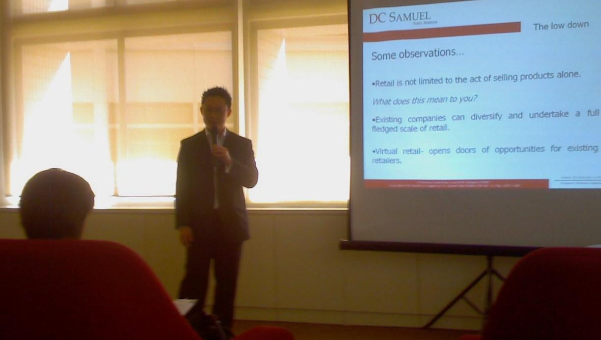 Samuel Chai, Group Account Director, DC Samuel