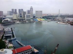 Marina Bay from Microsoft Offices
